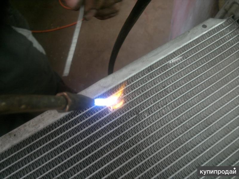 Радиатор турбированного мотоцикла отремонтирован, готов к эксплуатации!