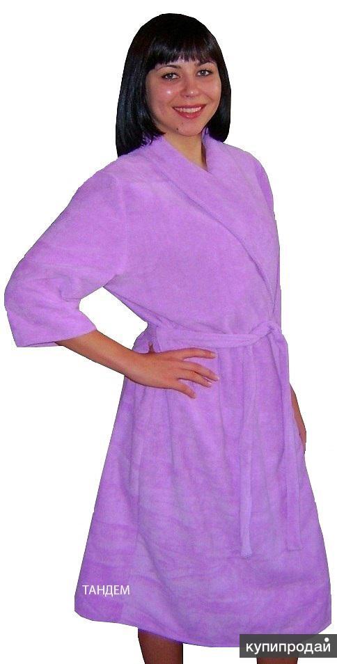 Халаты банные, полотенца  из  микрофибры от производителя