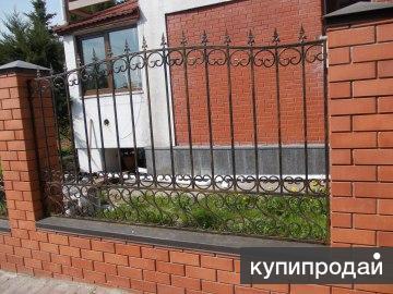 Кованые заборы и металлоконструкции в Калининграде