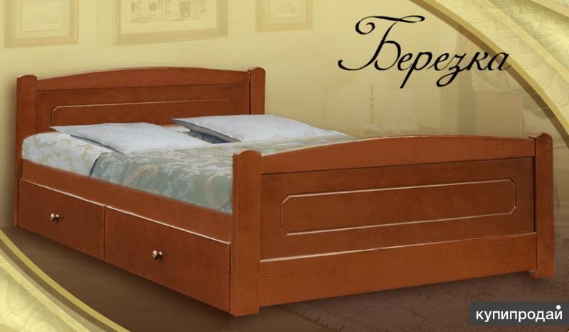 Кровать Берёзка 800*1900