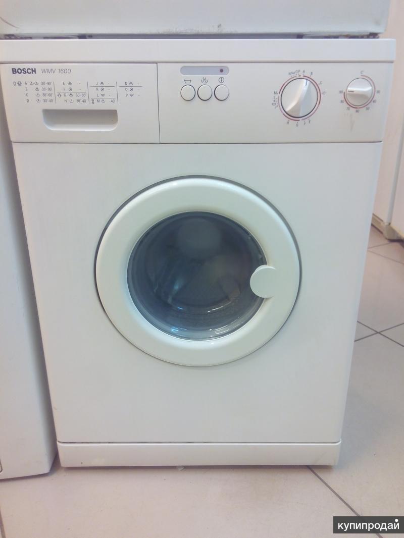 Ремонт стиральной машины bosch wmv 1600 своими руками