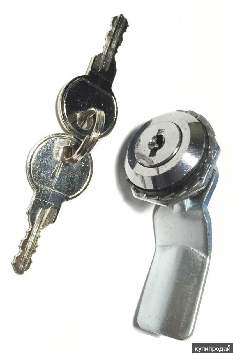 Замок поворотно-прижимной  под английский ключ RZ 01 (K)