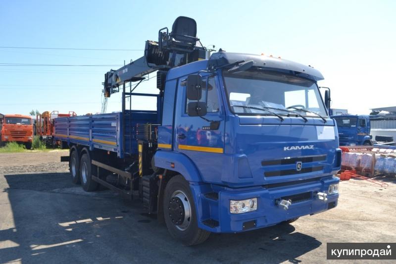 КАМАЗ 65117 с манипулятором HIAB 190TM