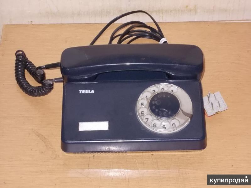 Телефон дисковый Tesla Еc 2300