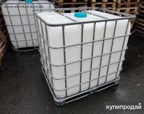Куплю кубовые емкости б/у .из под различных веществ еврокубы