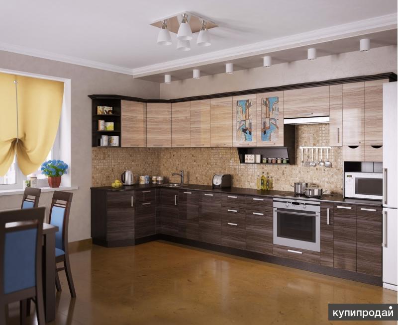 Кухня ВЕНЕЦИЯ-5 Угловая, правая - левая
