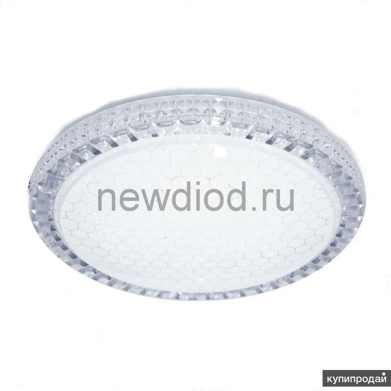 Управляемый светодиодный светильник Акрилика SOTA 40W R-405-CLEAR/SHINY-220-IP44