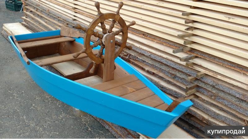 """Песочница """" Лодка со штурвалом"""