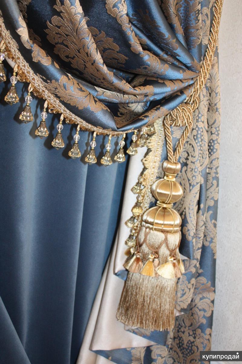Продажа тканей для штор, жалюзи, карнизы, аксессуары для штор, чехлы для мебели.