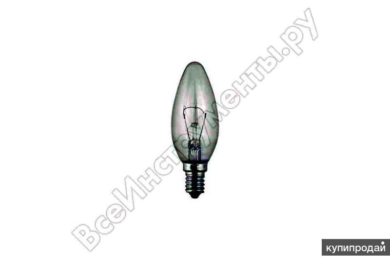 Лампа накаливания,цоколь миньон Е-14