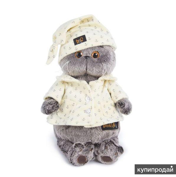 Игрушка Кот Басик в пижаме