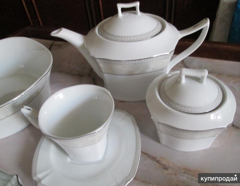 Набор столовой посуды премиум-класса из 23-х предметов.