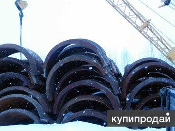 Утяжелители чугунные для трубопроводов