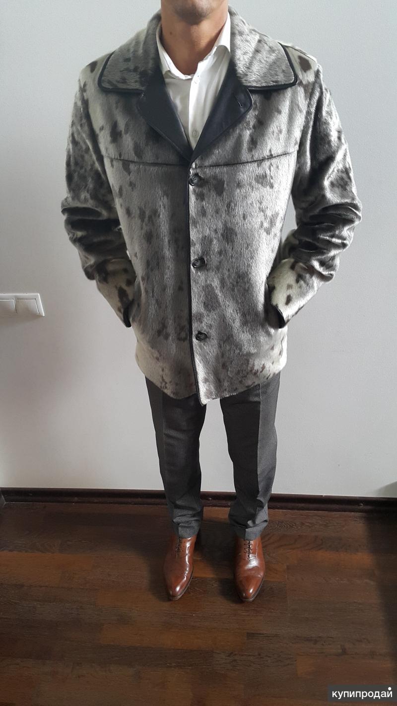 Куртка бренда gata FUR из нерпы