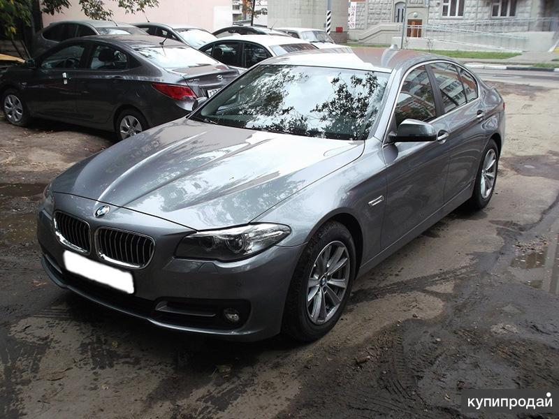 Прокат BMW 520I | Без залога и стажа | от 18 лет