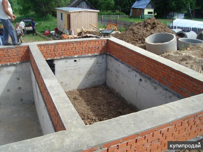 Строительство цокольного этажа i