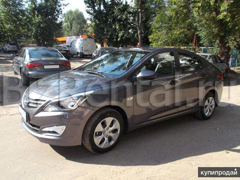 Прокат Hyundai Solaris МКПП