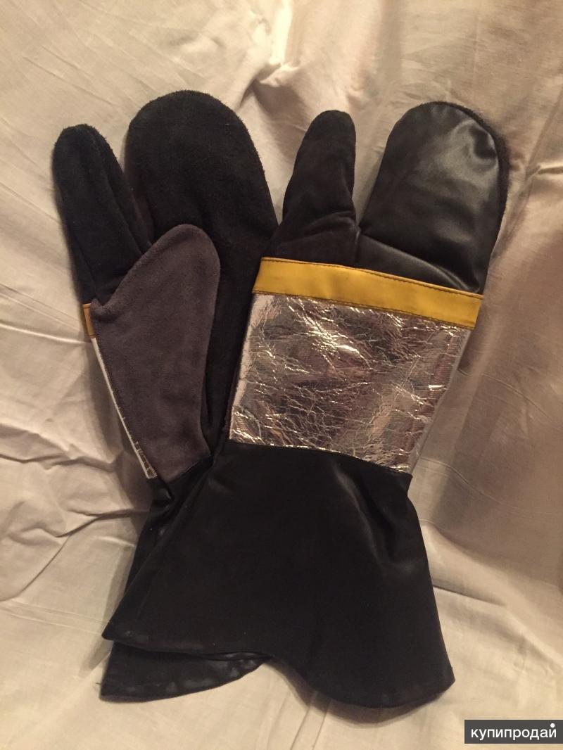 Пожарная крага (огнеупорные перчатки)