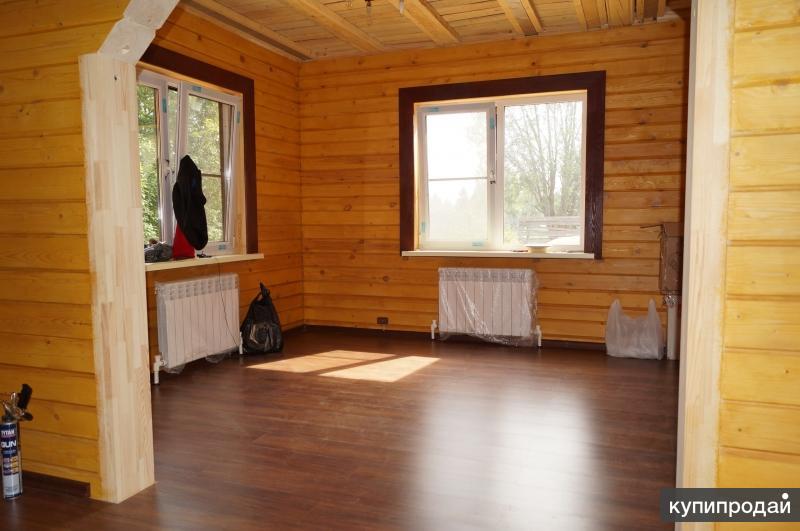 Как отделать деревянный дом внутри своими руками