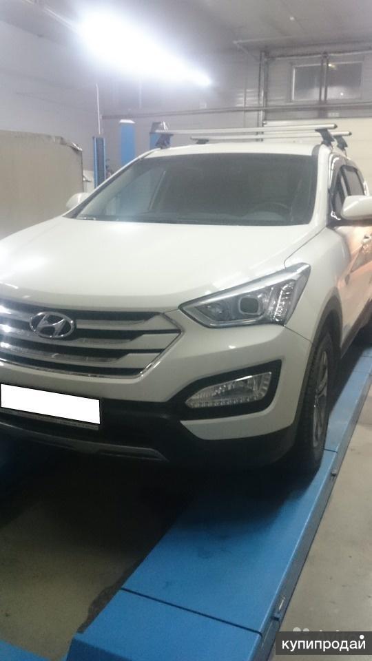 Багажник на Hyundai Santa Fe