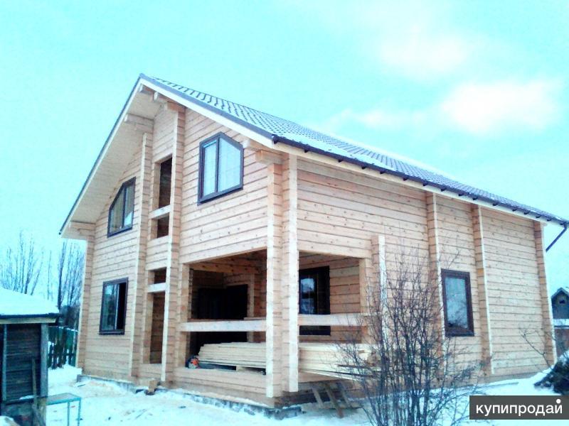 Профессиональное строительство домов и бань!