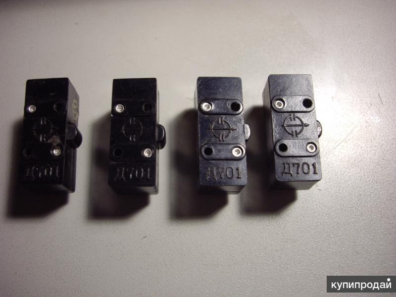 Микропереключатели Д-701. Д301. ВК-6