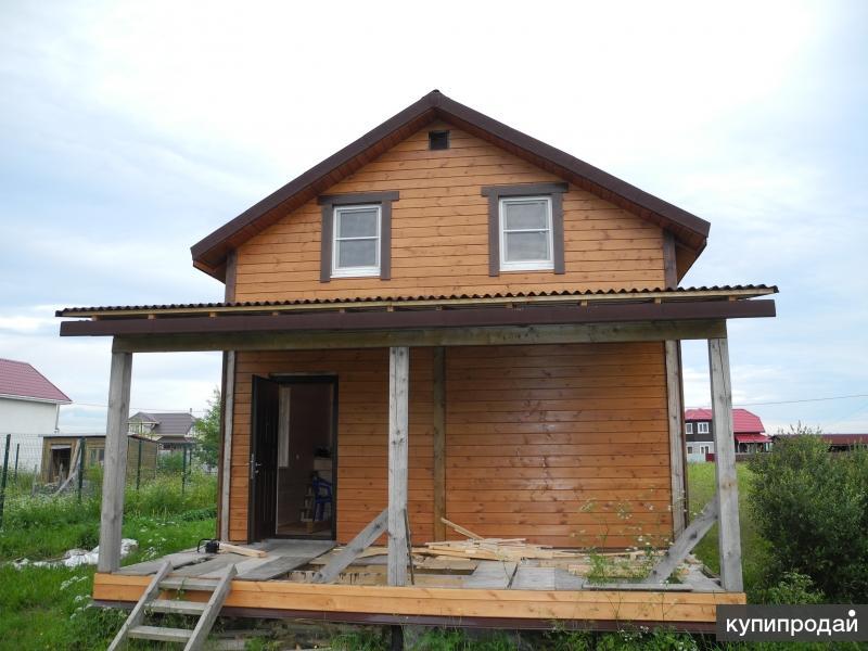 Строительство каркасных домов под полным контролем заказчика.