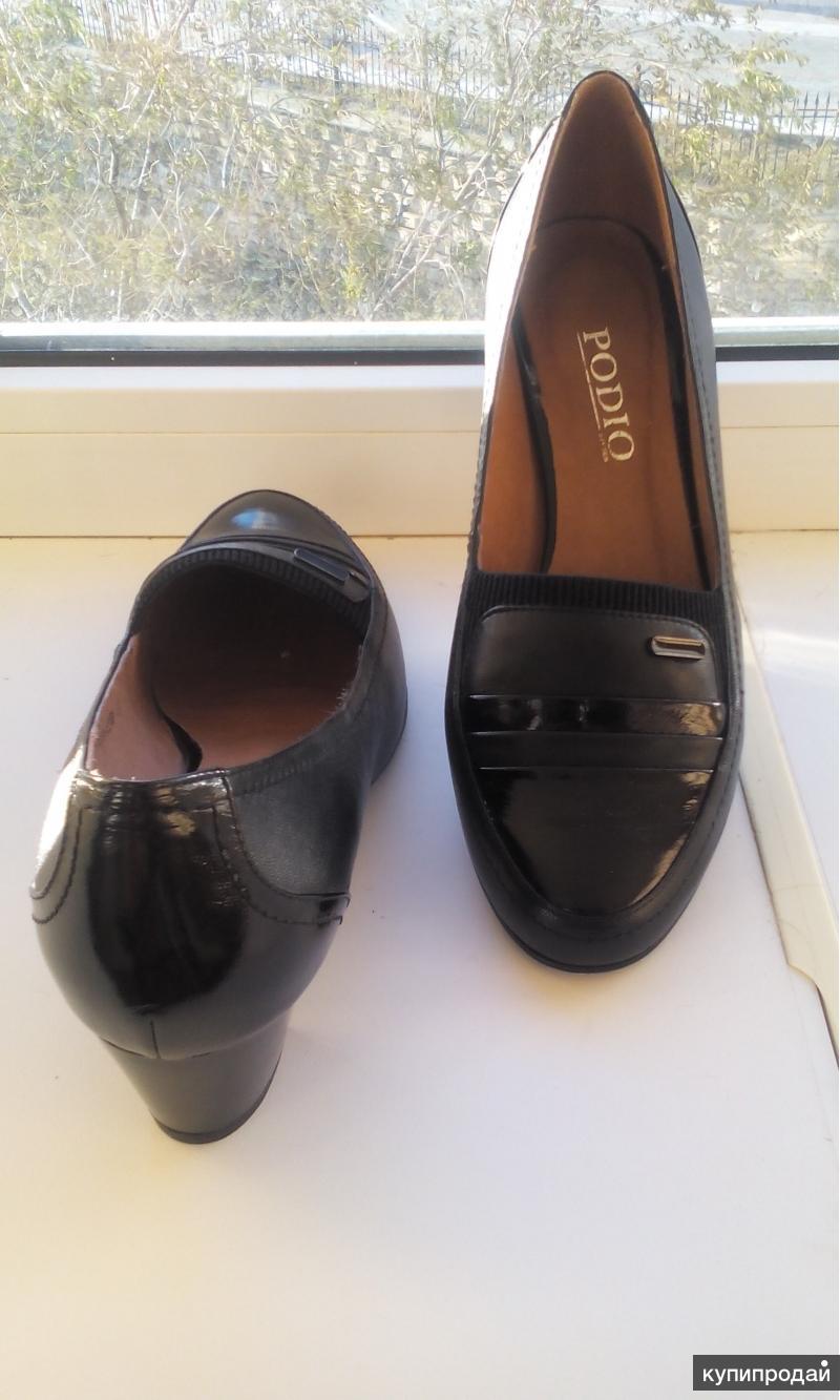 Новые женские черные элегантные туфли