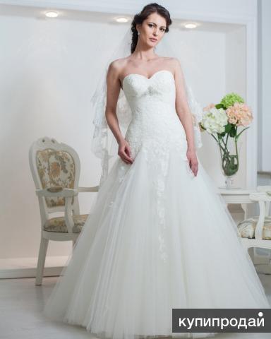 Продам шикарное свадебное платье Dominiss Arina 38-42 размера