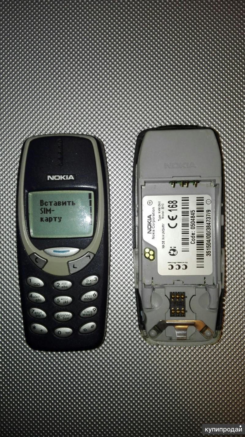 Продам два телефона Nokia 3310