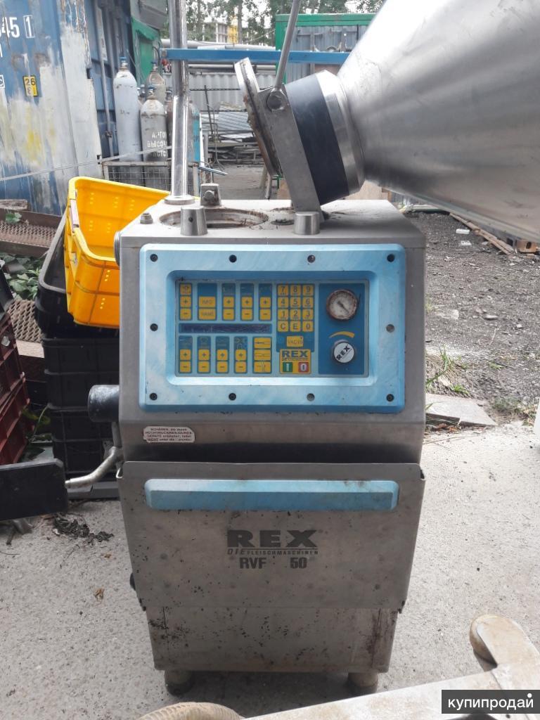 Шприц вакуумный роторный REX RVF 50, б.у.
