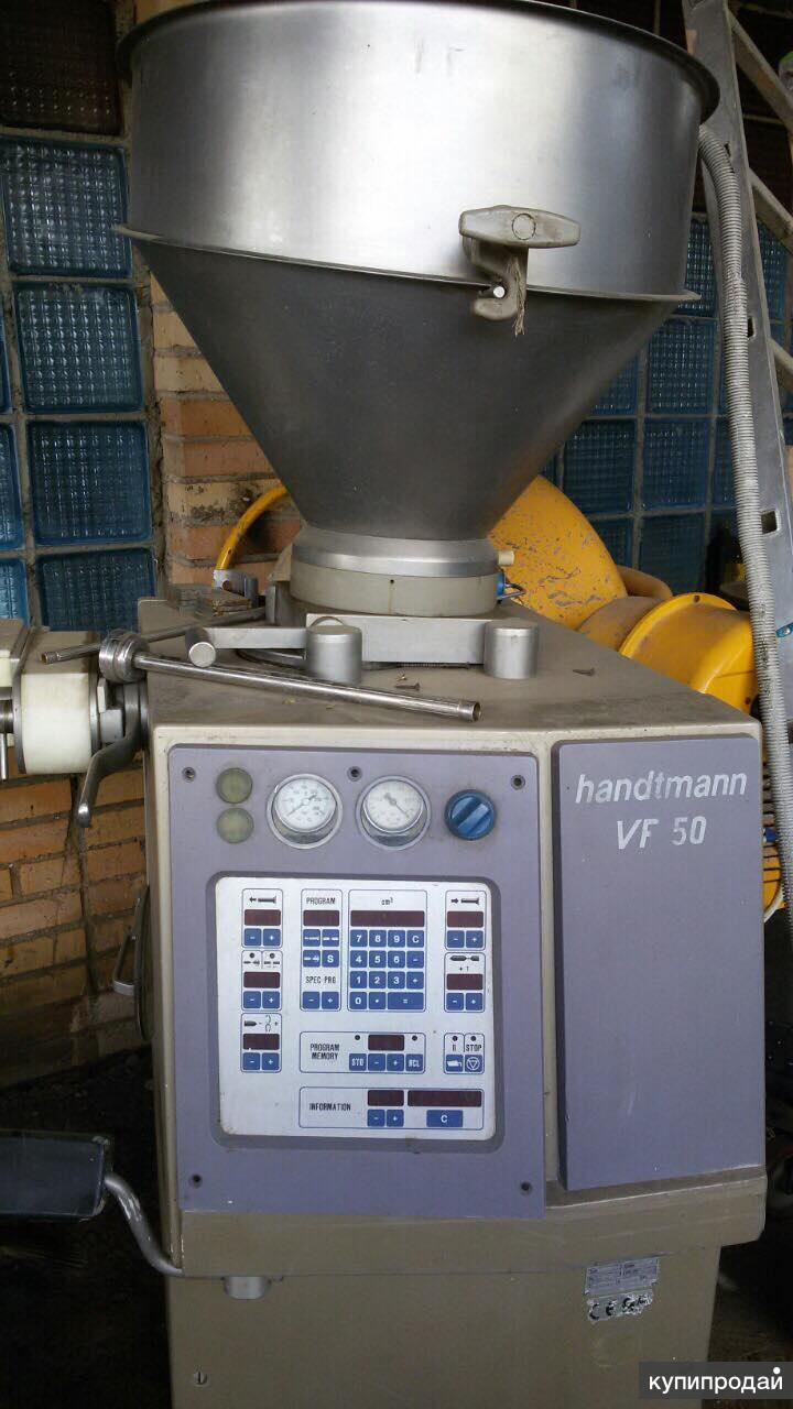 Шприц вакуумный Handtmann VF 50, б.у.