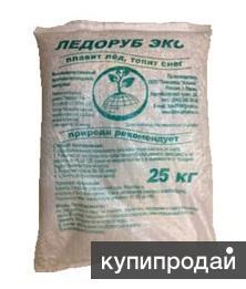 Противогололедный реагент (материал, смесь) Ледоруб Эко