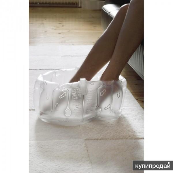 Надувная ванночка для ног Bean белая