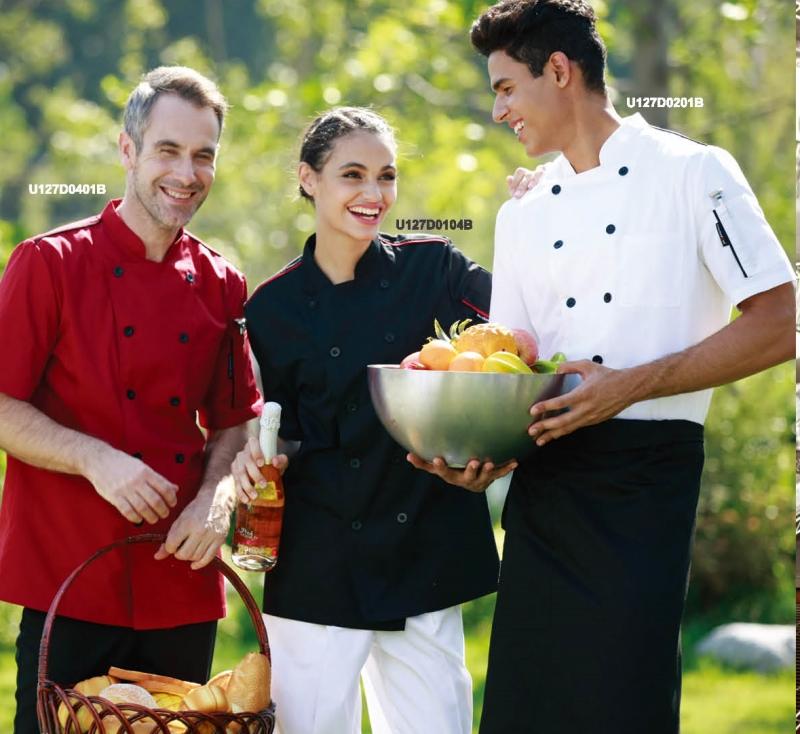 Профессиональная униформа для работников ресторанов, кафе и гостиниц.