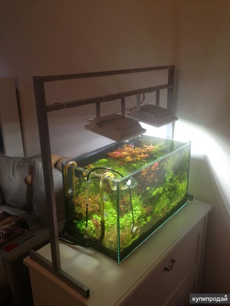 Аквариум освещение для растений своими руками 66