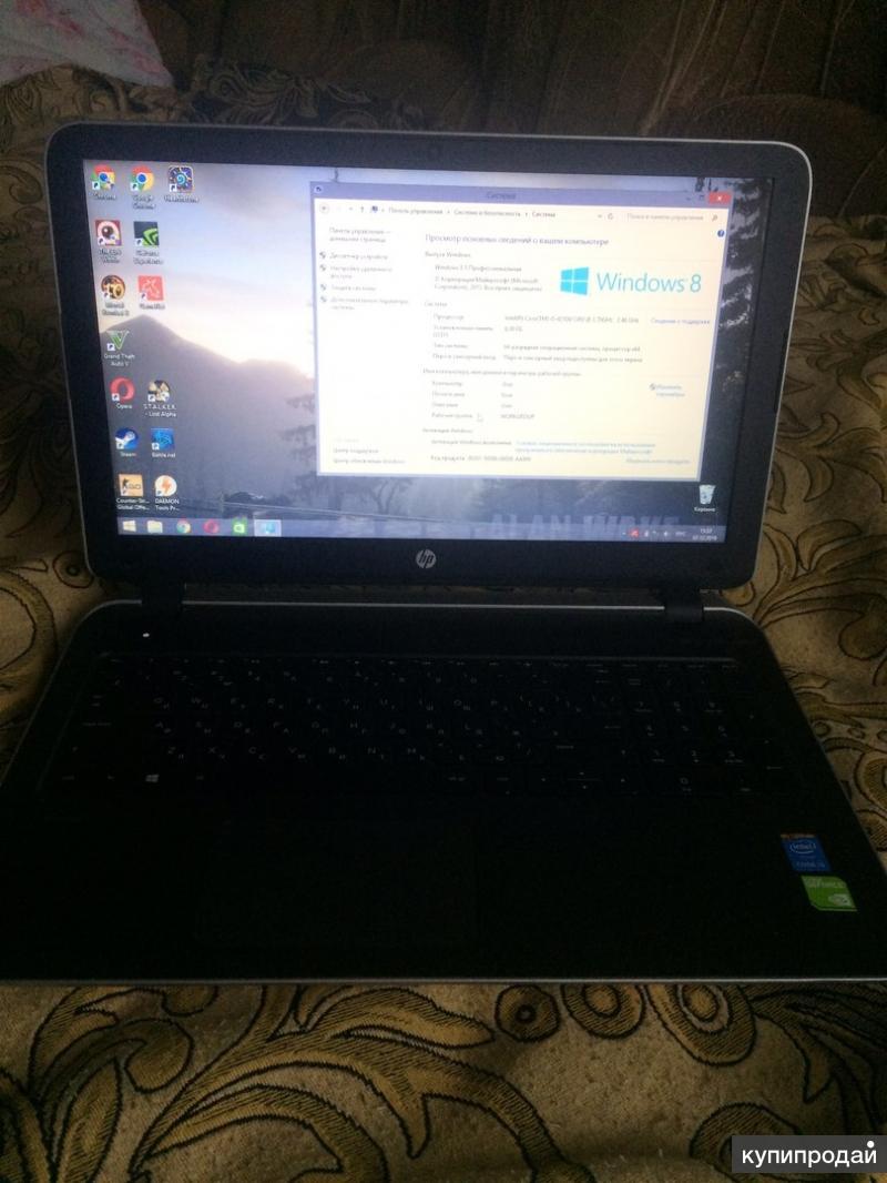Продам срочно ноутбук HP Pavilion 15-p155nr
