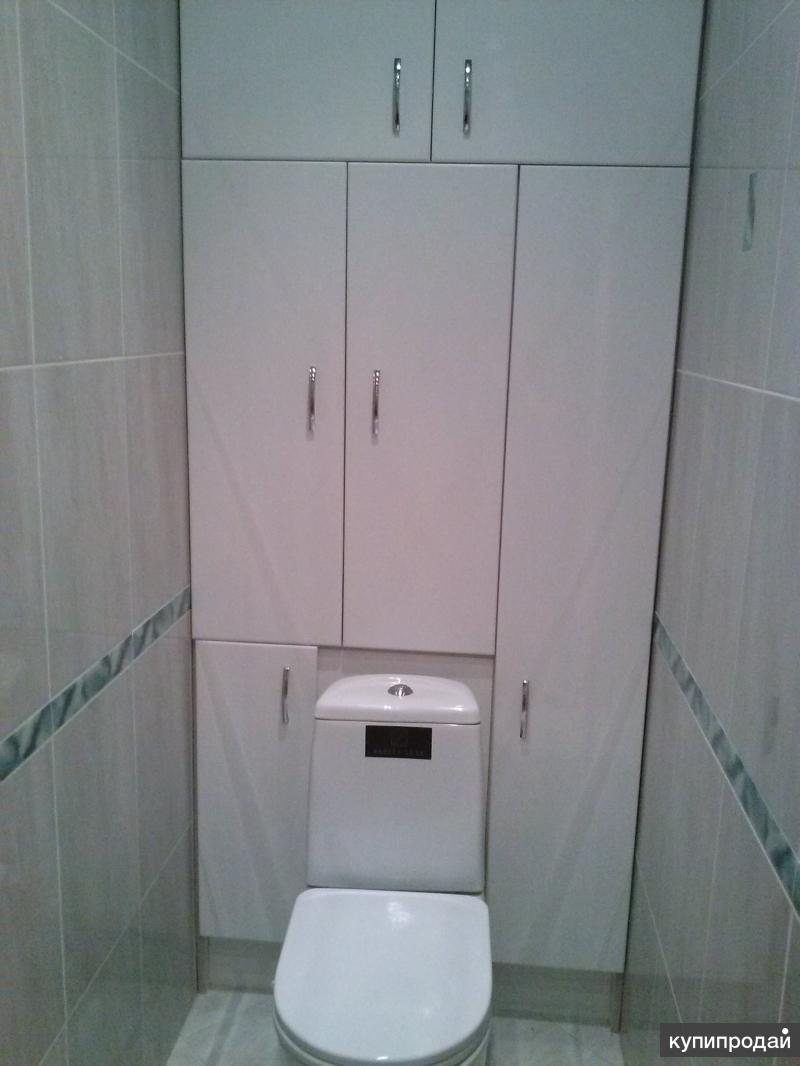Как сделать туалет в кладовке