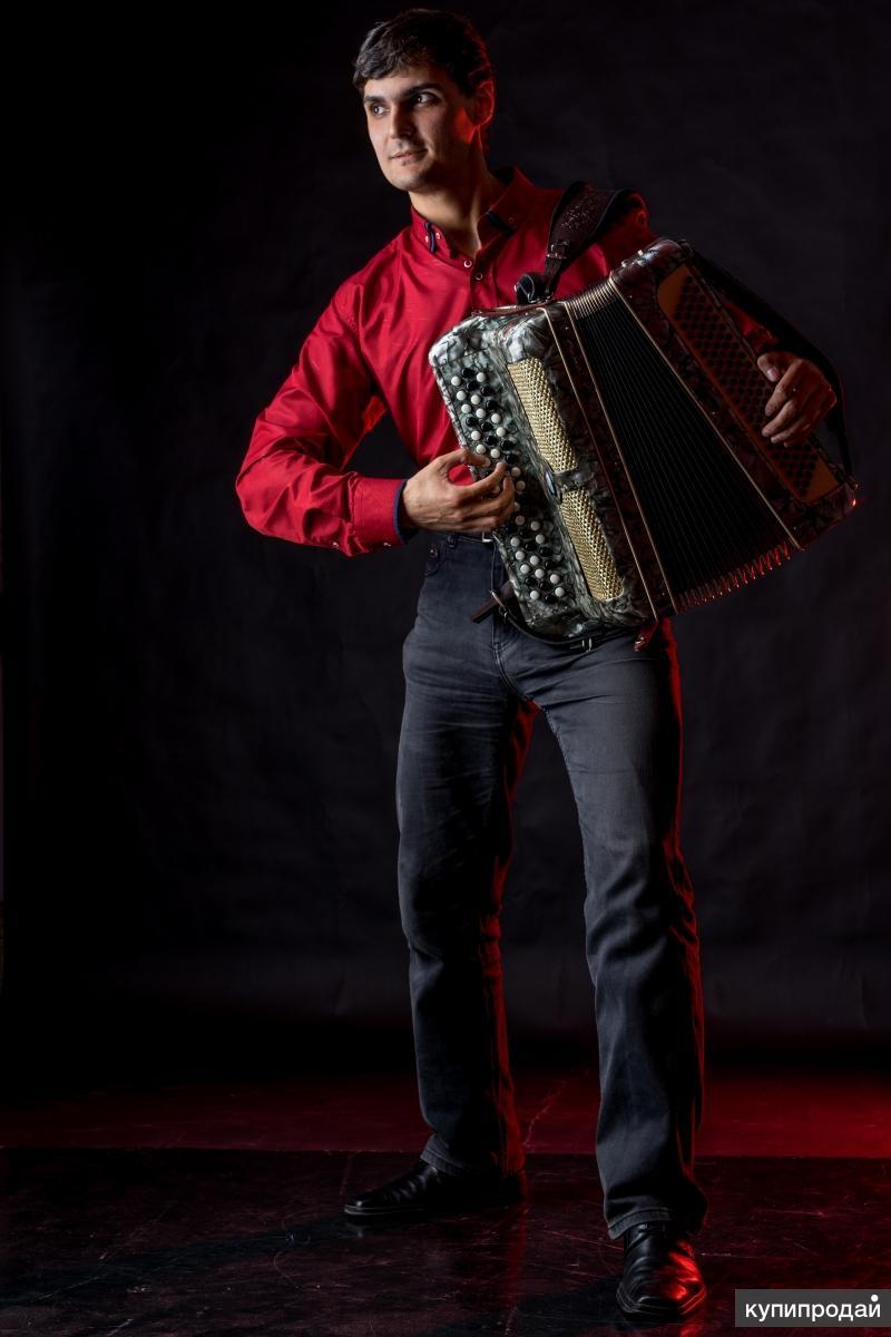 Профессиональный баянист! Disco, SKA, Balkana-gypsy, Eurodance, Folk& Ballads!!!