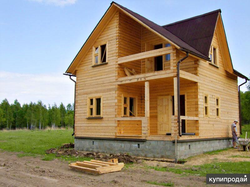 Строим из бруса.дома и бани.русские .договор