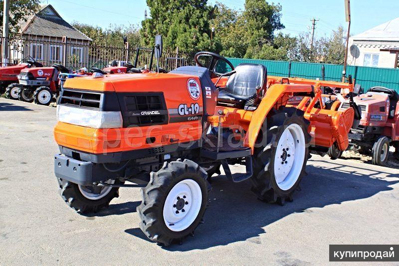 японский мини трактор KUBOTA GL19D
