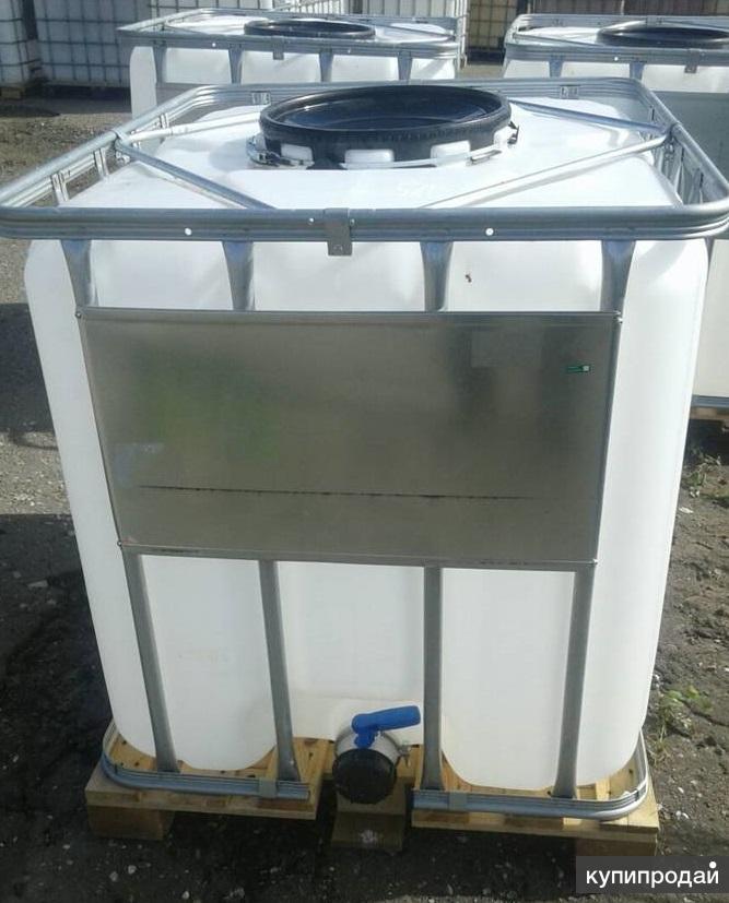 Еврокуб 1000 литров бу с заливной горловиной 45 см