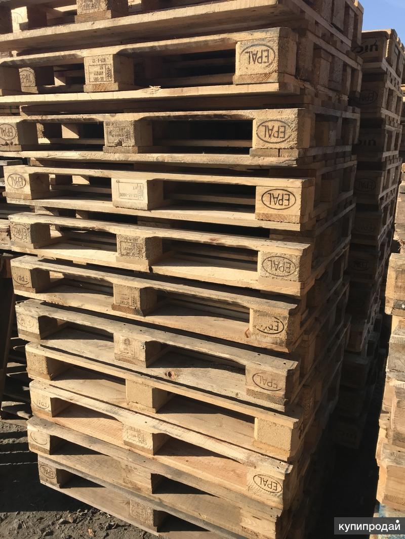 Продам поддон деревянный Евро