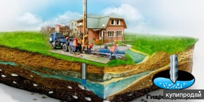 Бурение скважин на воду, рассрочка 0% на 2 месяца, гарантия на скважину 5 лет