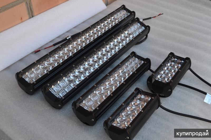 Светодиодная балка (LED фара, люстра) для внедорожников