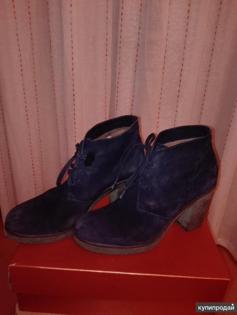 Ботинки  Итальянские  нат замша