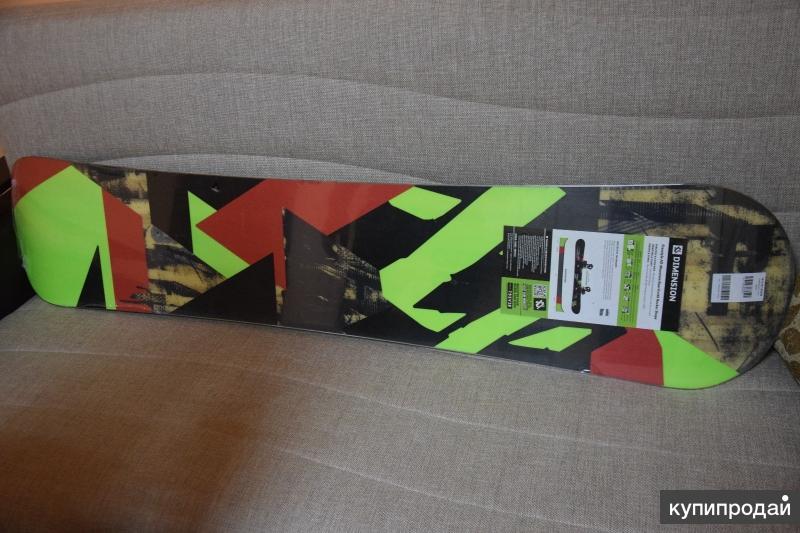 Продам новый сноуборд в заводской упаковке