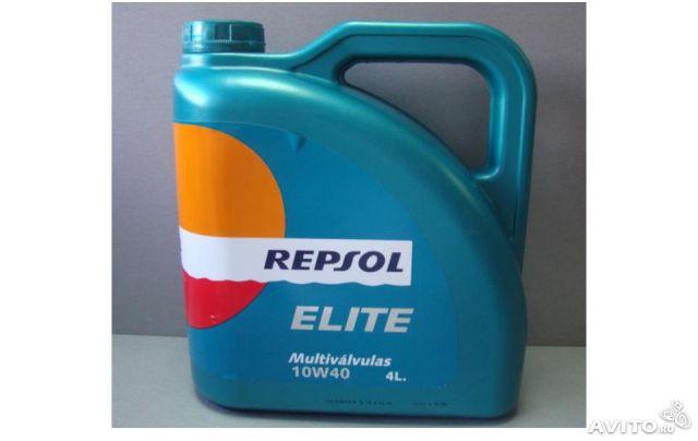 Repsol RP elite multivalvulas 10W40 4 л