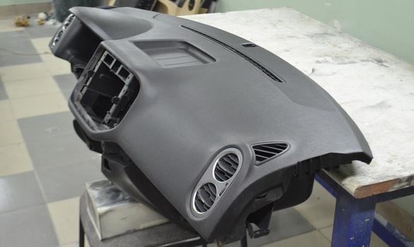 Ремонт изделий из кожи, ремонт панелей после сработки AIRBAG