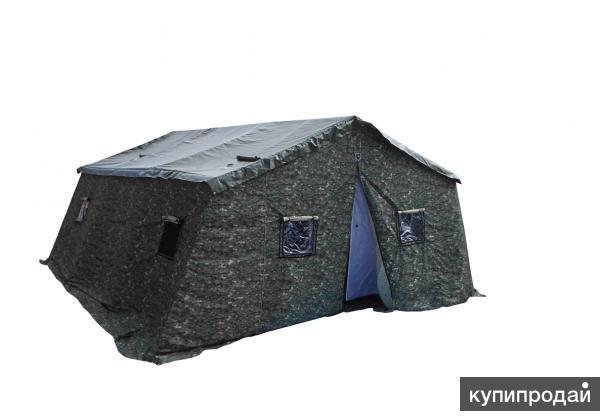 Каркасная палатка 10м2 (двухслойная)